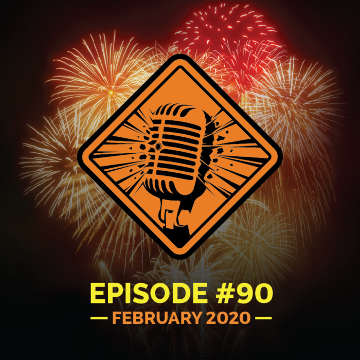 "Fireworks Brigade Pyro Podcast Episode 90 ""Lady Loves Big Gun"""